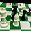 Thumbnail: Semiprofesional Omnichess Negro/Blanco 400 g
