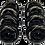 Thumbnail: 8 ruedas de 72 mm y 85A de dureza: Negra y Rosa