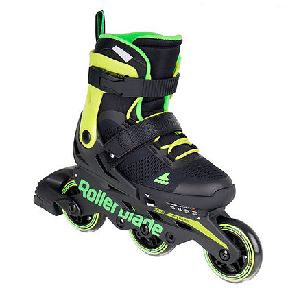 Patines Fitness Microblade 3WD Verde Rollerblade