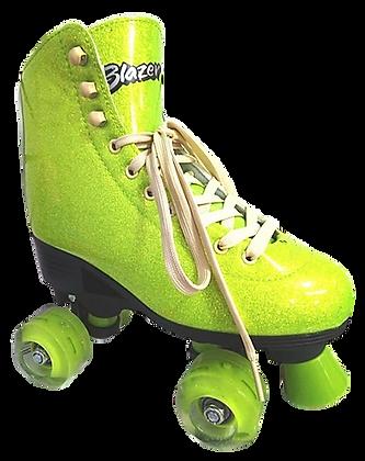 Patines Roller Clasico Blazer Verde Glitter BZ-0126G