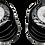 Thumbnail: Set de 8 ruedas de 76 mm y 85A de resistencia