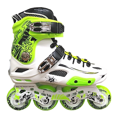 Patines Freeskate RX4 Verde-Blanco