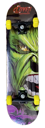 Patineta de Madera Cover Hulk 1