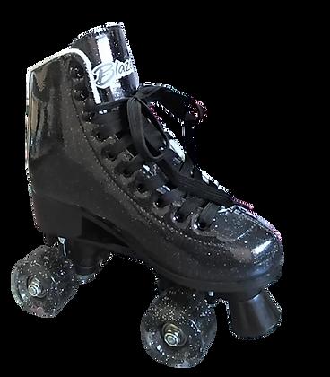 Patines Roller Clasico Blazer Negro Glitter BZ-0126G
