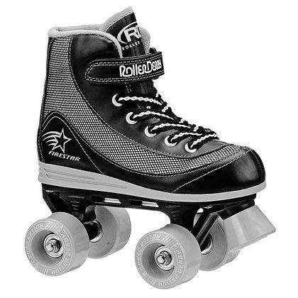 Patines Roller Clasico 4 Ruedas FireStar Negro Roller Derby