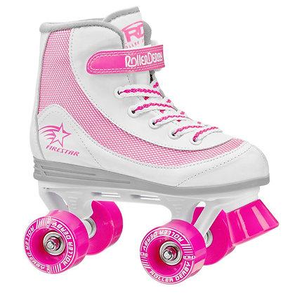Patines Roller Clasico 4 Ruedas FireStar Rosa Roller Derby