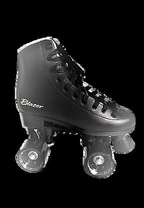 Patines Roller Clasico 4 Ruedas Blazer Negro CT-006