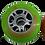 Thumbnail: Set de 8 ruedas de 84 mm y 85A dureza 3 colores