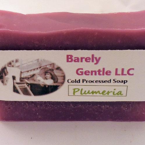Plumeria Handmade Cold Processed Soap