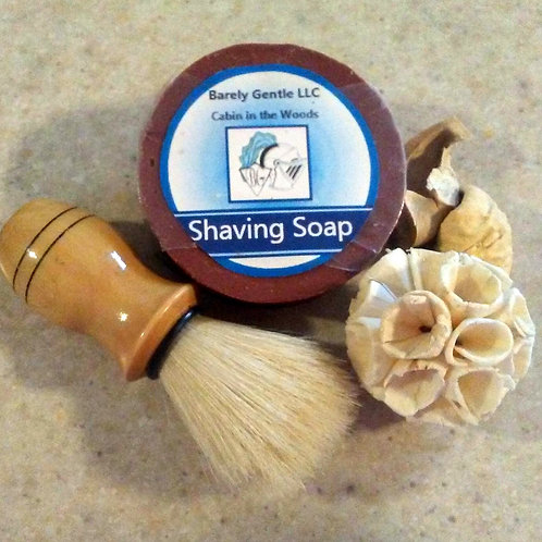 Cabin in the Woods Handmade Cold Processed Shaving Soap