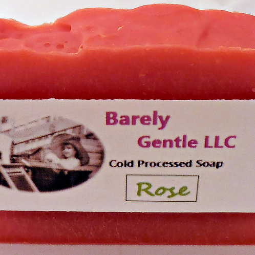 Rose Handmade Cold Processed Soap