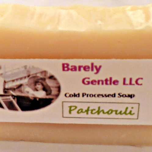 Patchouli Handmade Cold Processed Soap