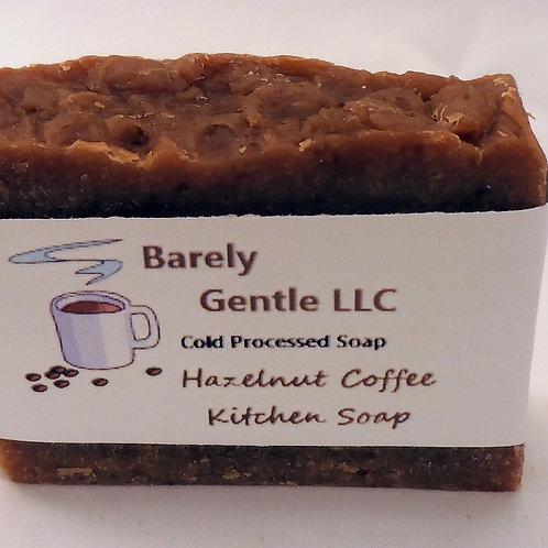 Toasted Hazelnut Coffee Handmade Cold Processed Soap