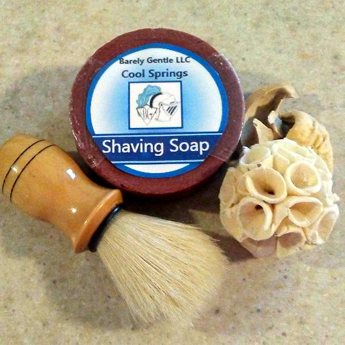 Cool Springs for Men Handmade Cold Processed Shaving Soap