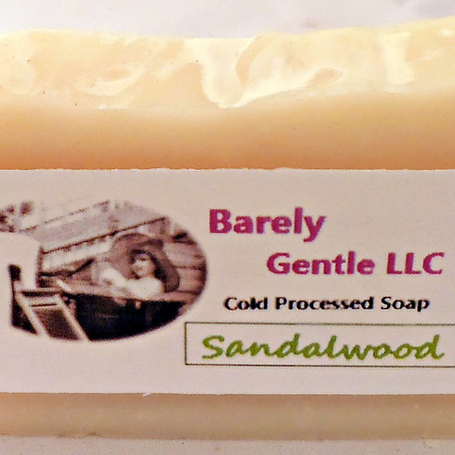 Sandalwood Handmade Cold Processed Soap