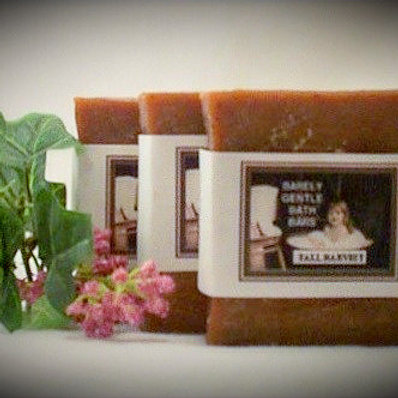 Fall Fall Harvest Handmade Cold Processed Soap