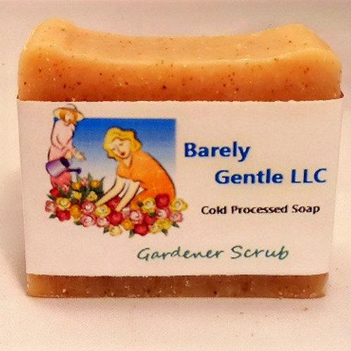 Gardener's Scrub Handmade Cold Processed Soap