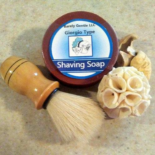Giorgio Type for Men Handmade Cold Processed Shaving Soap