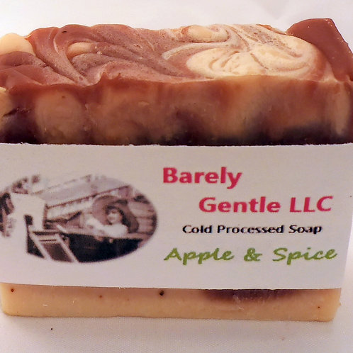 Apple and Spice Handmade Cold Processed Soap