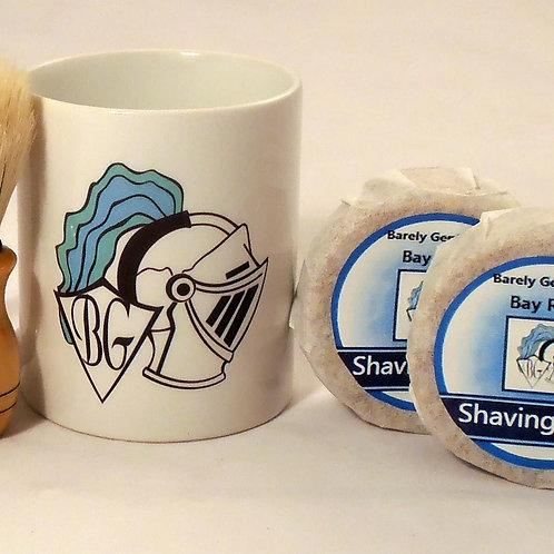 Men's Shaving Mug and Soap Set