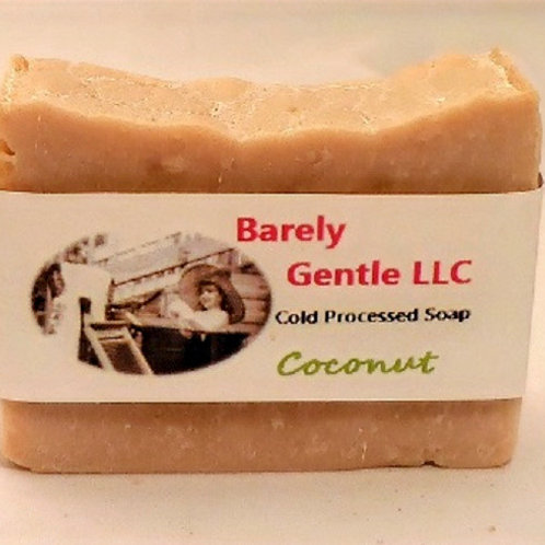 Coconut Handmade Cold Processed Soap