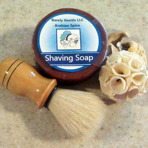 Sandalwood Handmade Cold Processed Shaving Soap