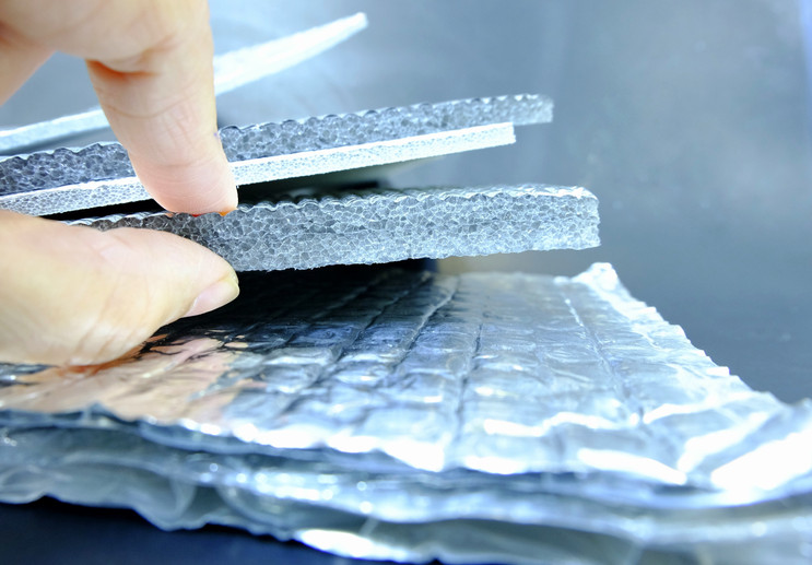 The insulation in the form of foil..jpg
