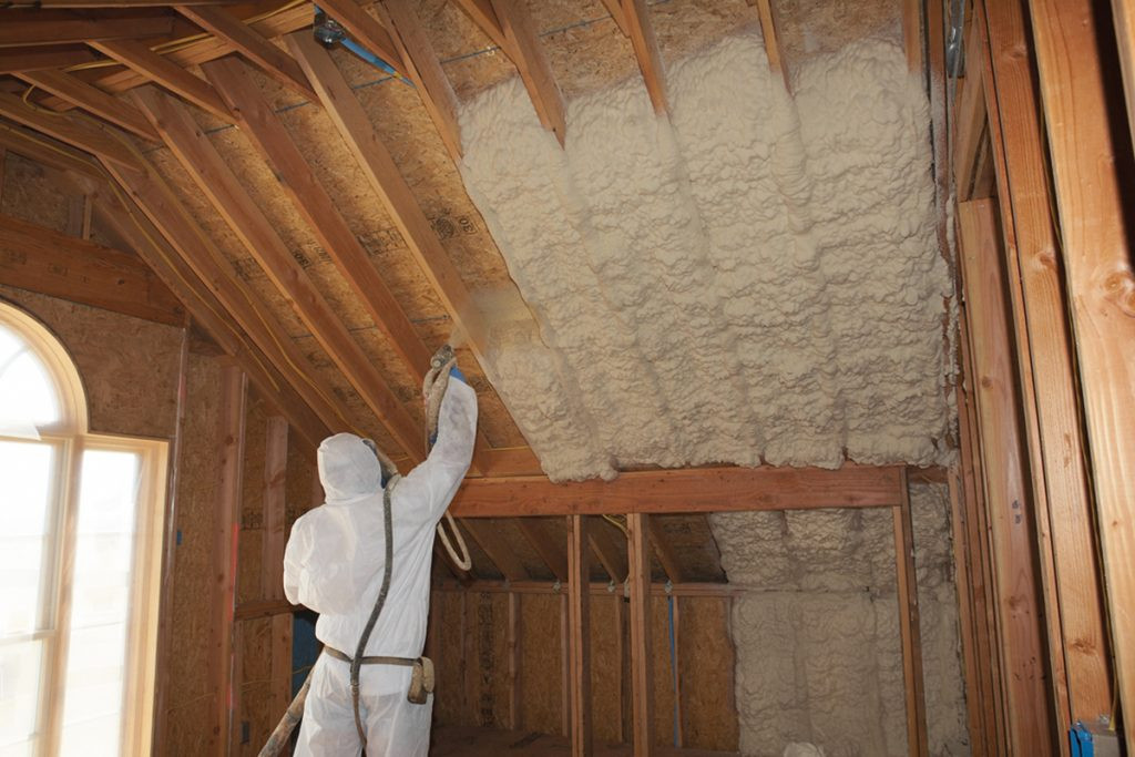 Polyurethane Spray Foam Insulation (SPF)_Attic Insulation