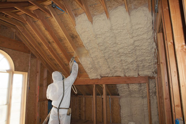 Polyurethane Spray Foam Insulation (SPF)_Attic Insulation