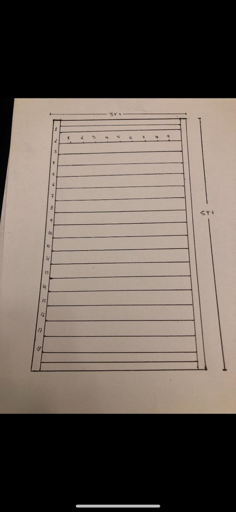 Golf Case Drawings
