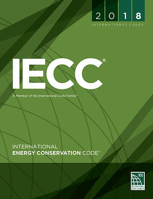 2018 International Energy Consercation Code manual, Energy Efficiency Building Codes