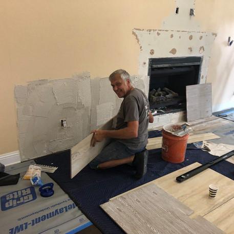 Fixing of Tiles