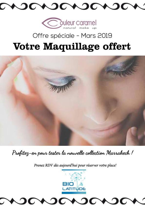 Votre Maquillage offert!