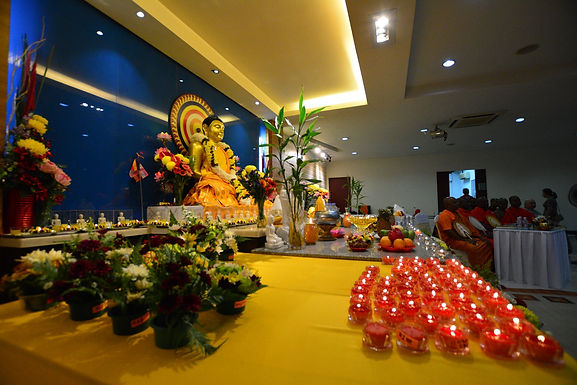 Chinese New Year Puja