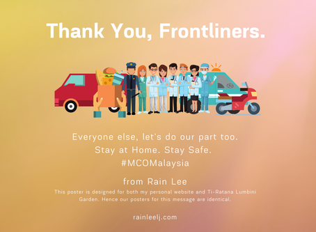 Thank You, Frontliners.