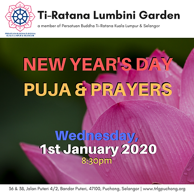 New Year's Day Puja & Prayers