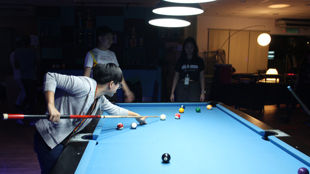 Candid Pool Table