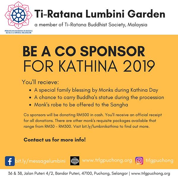 KATHINA DAY | Ti-Ratana Lumbini Garden Puchong | Malaysia