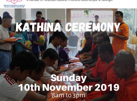 Kathina 2019 - Puchong