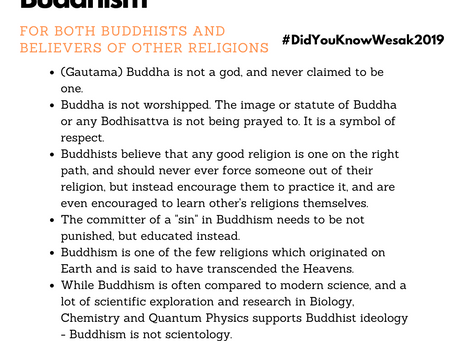 Misconceptions on Buddhism