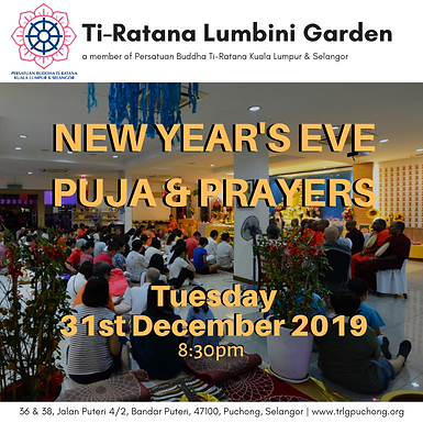 New Year's Eve Puja & Prayers