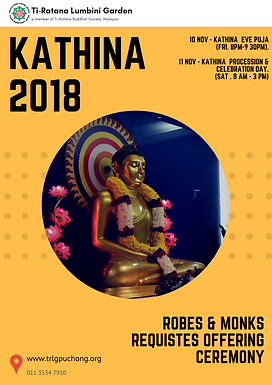 Kathina Day 2018
