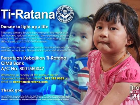 Covid-19: Ti-Ratana Welfare Society Needs Your Support