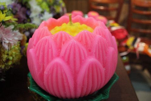 Lotus Prayer Candles