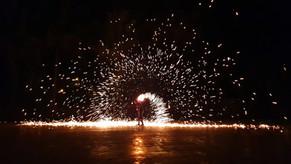 Outbac Broga, Broga Fire Show