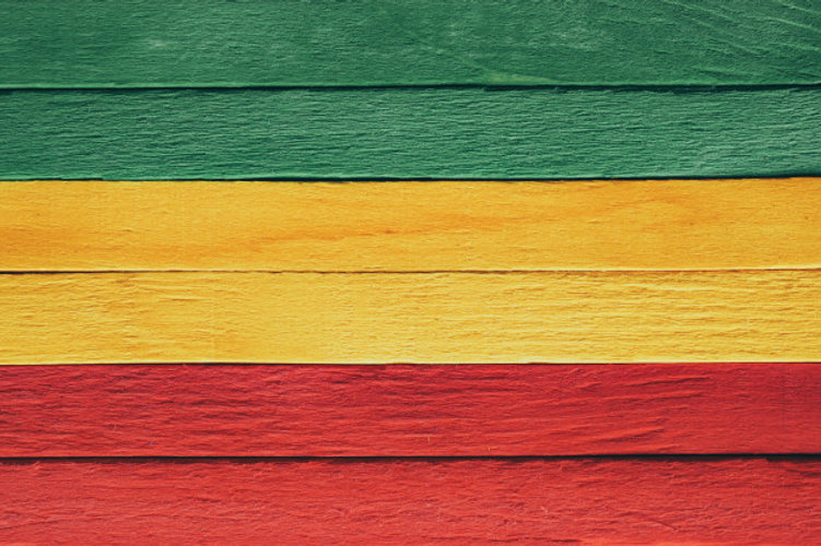 background-wood-green-yellow-red-old-ret