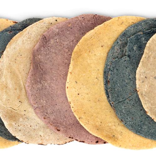 Tortillas de Nixtamal germinadas