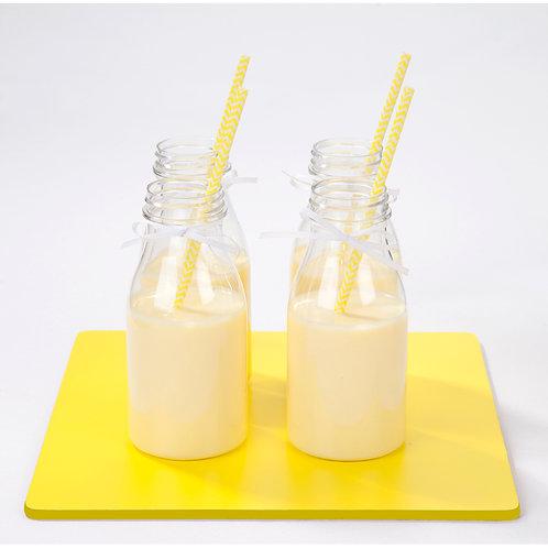 Kefir de leche de mango