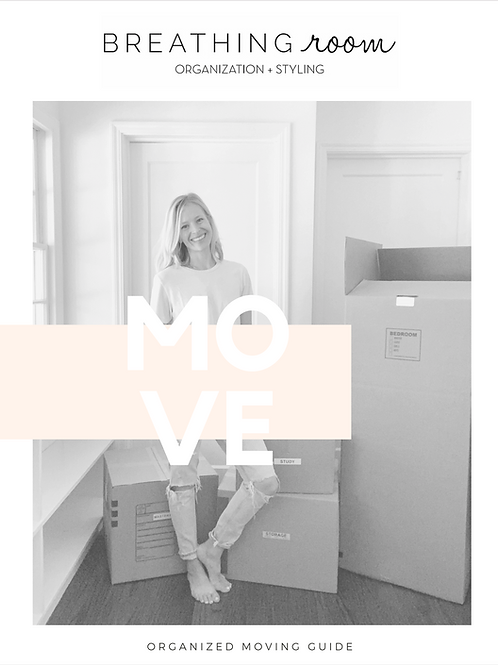 Organized Moving Guide