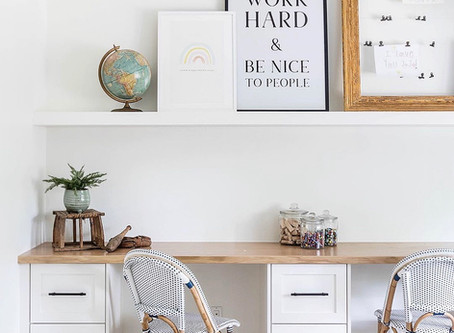 How to Create an Organized Home Learning Space